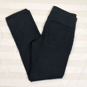 J. Jill authentic fit Slim leg black jeans size 8